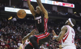 "Heat ""Rookie"" Hassan Whiteside Is Opening Eyes In Miami"