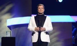 John Travolta at 2017 GRAMMYs