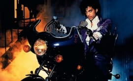 This is Prince in the film, 'Purple Rain.'
