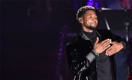 Usher performs at the Songwriters Hall Of Fame 48th Annual Induction and Awards.