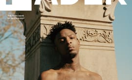 21 Savage Covers The Fader Dec/Jan 2017 Issue
