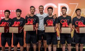 Ronaldo Nike Hyperadapt Black Red