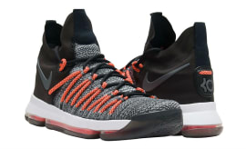 Nike KD 9 Elite Black White Dark Grey Hyper Orange Release Date Thumb 878637-010