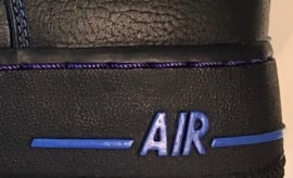 Vlone x Nike Air Force 1 Black/Blue Teaser