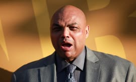 Charles Barkley attends the 2017 NBA Awards