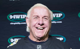 Ric Flair at Wing Bowl 25