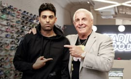 Ric Flair Sneaker Shopping