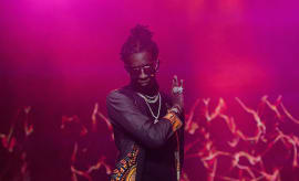 Young Thug performs onstage at 2016 V-103 Winterfest