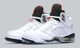 Air Jordan 5 White Cement Release Date Main 136027-104