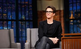 Rachel Maddow during an interview on December 21, 2016