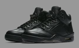 Air Jordan 5 Premium Black Release Date Main 881432-010