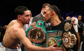 Keith Thurman Danny Garcia Barclays Center 2017