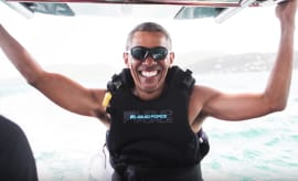Obama riding a new wave
