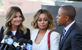 Blac Chyna and Lisa Bloom in L.A.