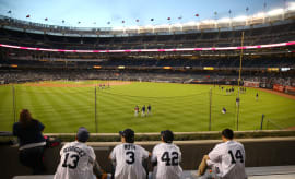 Yankees Fans Jersys Yankee Stadium 2015