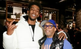 Desiigner & Spike Lee.