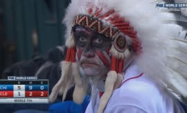 Sad Indians fan