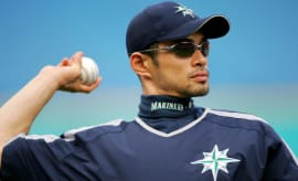 Ichiro Suzuki 2005 Mariners Getty