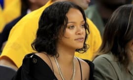 Rihanna at Game One