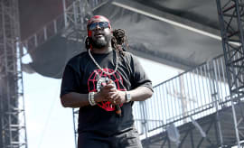 T-Pain performs at KAABOO Del Mar