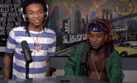 Rae Sremmurd on Hot 97's 'Ebro in the Morning.'