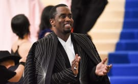 Sean Combs attends Met Gala