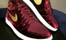 Red Velvet Air Jordan 1 Heriess Lede