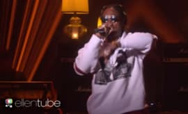 Future performs on 'Ellen.'