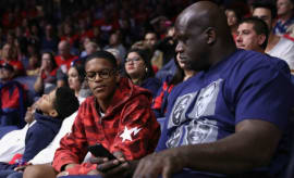 Shareef and Shaquille O'Neal.