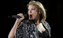 This is a photo of Taylor Swift.