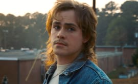Australian actor Dacre Montgomery in Stranger Things 2
