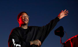 YG at 1st Annual Ship Show Music Festival