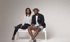 "Dwyane Wade and Gabrielle Union present the ""D&G: A His & Hers Fancy Pop-Up Experience"""
