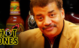 Hot Ones Neil deGrasse Tyson