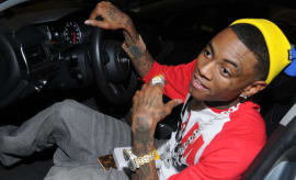 Soulja Boy attends the XBOX Miracle Of Music Benefit In Honor Of The 2011 AMAs