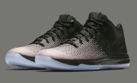 Air Jordan 31 Low Black White Pink Release Date Main 897564-001