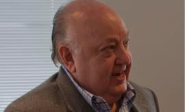 A creative commons photo of Roger Ailes from Wikimedia Commons