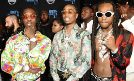 Migos at the 2017 BET Awards.