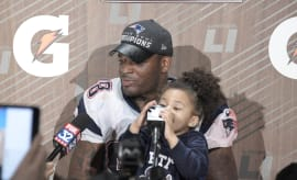 Martellus Bennett and daughter