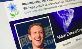 Mark Zuckerber Facebook Page