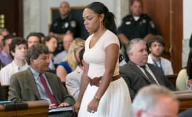Shayanna Jenkins-Hernandez appears in court.