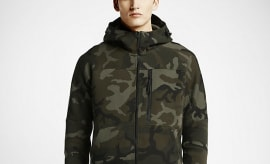 Nike Camo Tech Fleece Apparel