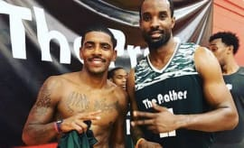 Kyrie no beard