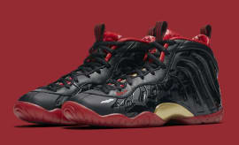 Nike Little Posite One Vamposite Halloween Release Date Main 846077-003