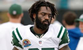 Joe McKnight on the field for the Jets.