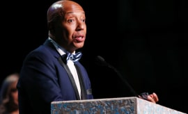 Russell Simmons at the Environmental Media Association's 27th Annual EMA Awards