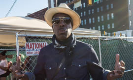JB Smoove at The Roots Picnic 2017