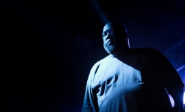 This is a photo of Killer Mike.