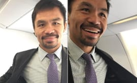 Manny Pacquiao Instagram post.