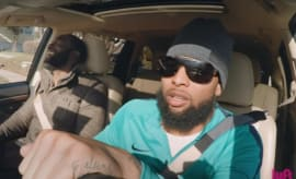 Odell Beckham Jr. goes undercover as Lyft driver.